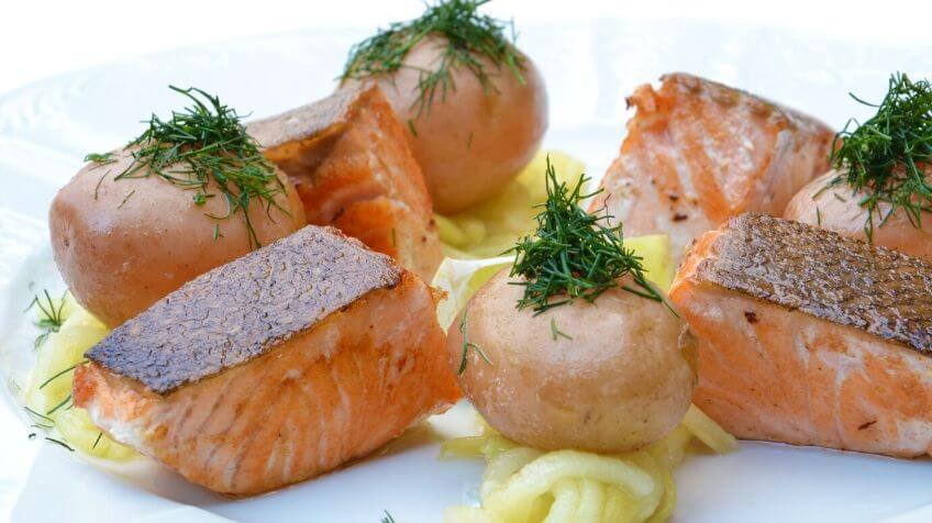 Vette vis bevat magnesium